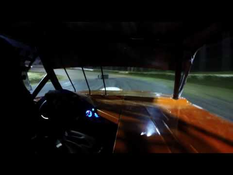 8.19.16 Freedom 4 Chevette Feature Moler Raceway Park 17 In Car