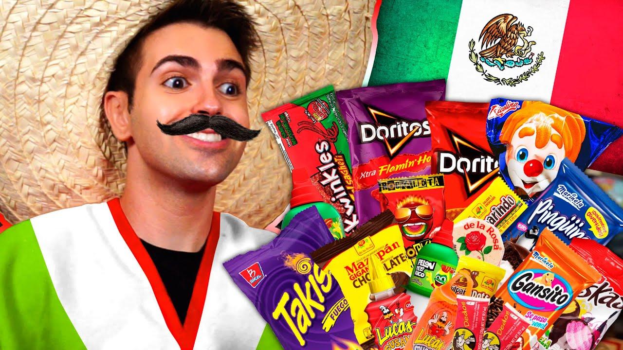 Probando DULCES MEXICANOS !! 😱😁  *¿Cuál es mi favorito?*