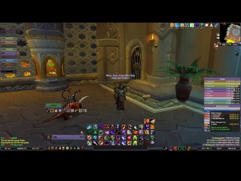 Live WOW - Ruby 25n - Warlock Affliction pve