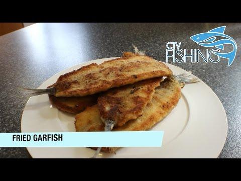 Fried Garfish - CTV Fishing - Catch & Cook