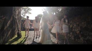 Sharlin and Robot Bali Wedding (bvlgari water wedding) by mayad