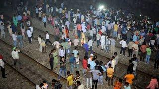 #Amritsar #train #accident Amritsar train accident : During Ravan burning