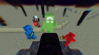 Minecraft Achiever VS 3 Hunters