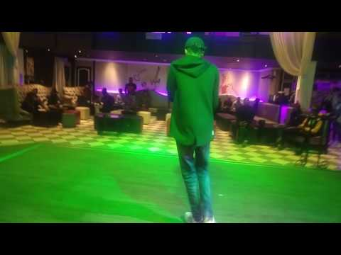 NEW * Leaked footage of Martin Jay Bless performing llive on stage