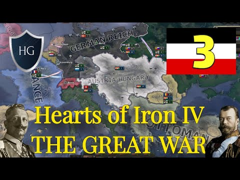VICTORY IN THE EAST - Hearts Of Iron IV - German Empire - 3 (Great War Mod)