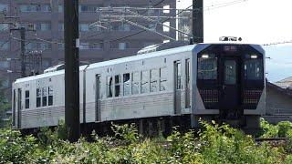 臨時快速「只見夏休み満喫号」GV-E400系 9732D