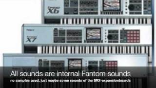 ROLAND FANTOM X SEQUENCER DEMO SONGS