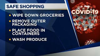 Tips on safe grocery shopping, home food storage during pandemic