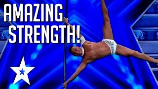 Amazing Feats of Strength From Around The World | Got Talent Global