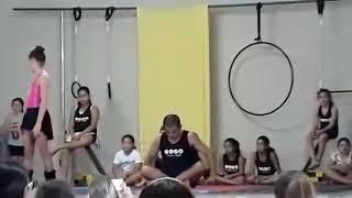 1° Apresentação de Circo Acrobático na Clínica Soler.
