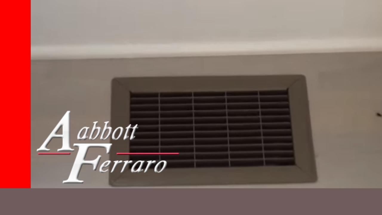 Fujitsu Concealed Slim Duct Heat Pump Installation In