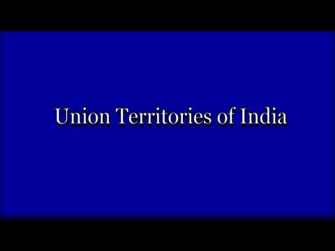 यूनियन टेरिटरी ऑफ़ इंडिया - भारत के केन्द्र शासित प्रदेश  - Union territories of india in hindi