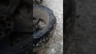 Приколы 2018; в шиномонтаж привезли колесо!!! Субару Импреза. 18 радиус.