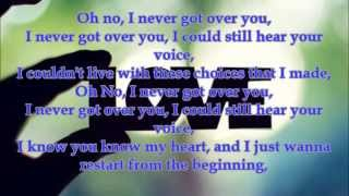 i never got over you - ryan hirt lyrics