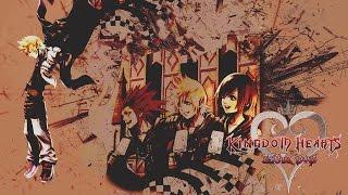 KINGDOM HEARTS 385/2 Days PS4 All Cutscenes Movie (Game Movie)