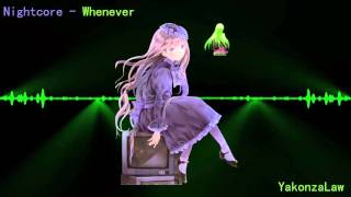 Nightcore - whenever wherever