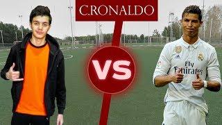 شاب عربي يتحدى كريستيانو رونالدو في المهارات!!! | Challenge VS Cristiano