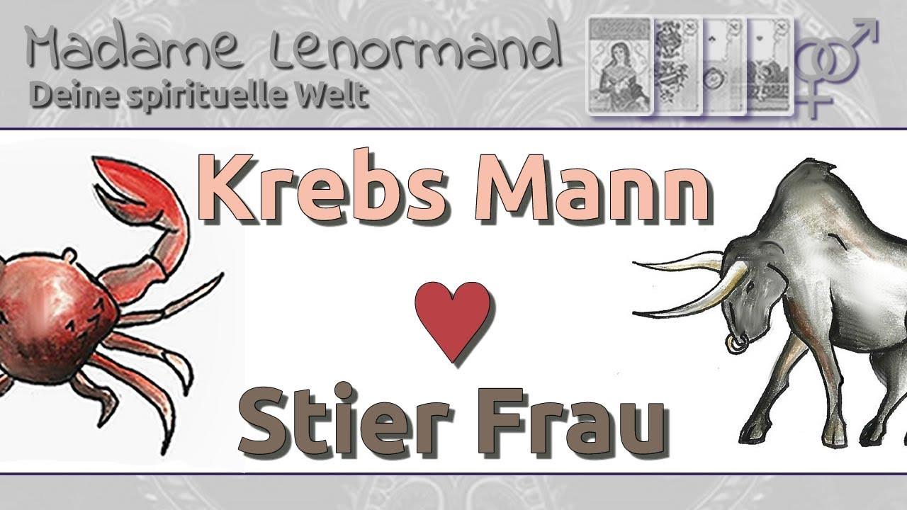 Krebs Mann & Stier Frau: Liebe und Partnerschaft - YouTube