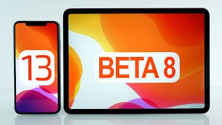 iOS 13 & iPadOS Developer Beta 8 / Public Beta 7