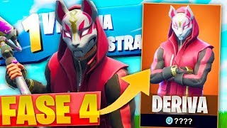 MY FIRST VICTORY WITH THE LEGENDARY SKIN *DERIVA* WITH MASK! - FORTNITE FUNNY MOMENTS