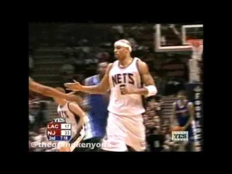 2003/04 Regular Season Game #34 Nets vs. Clippers 1st Half Highlights (YES)