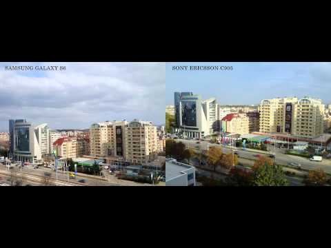 Samsung Galaxy S6 vs 8 year old Sony Ericsson C905 camera comparasion
