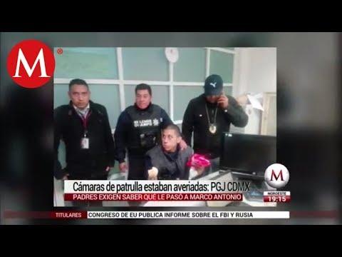 Cámaras de patrullas en caso Marco Antonio estaban averiadas: PGJ CDMX