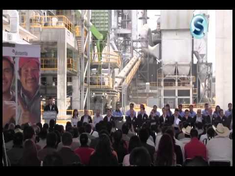 Inauguración De La Empresa Cementos Fortaleza