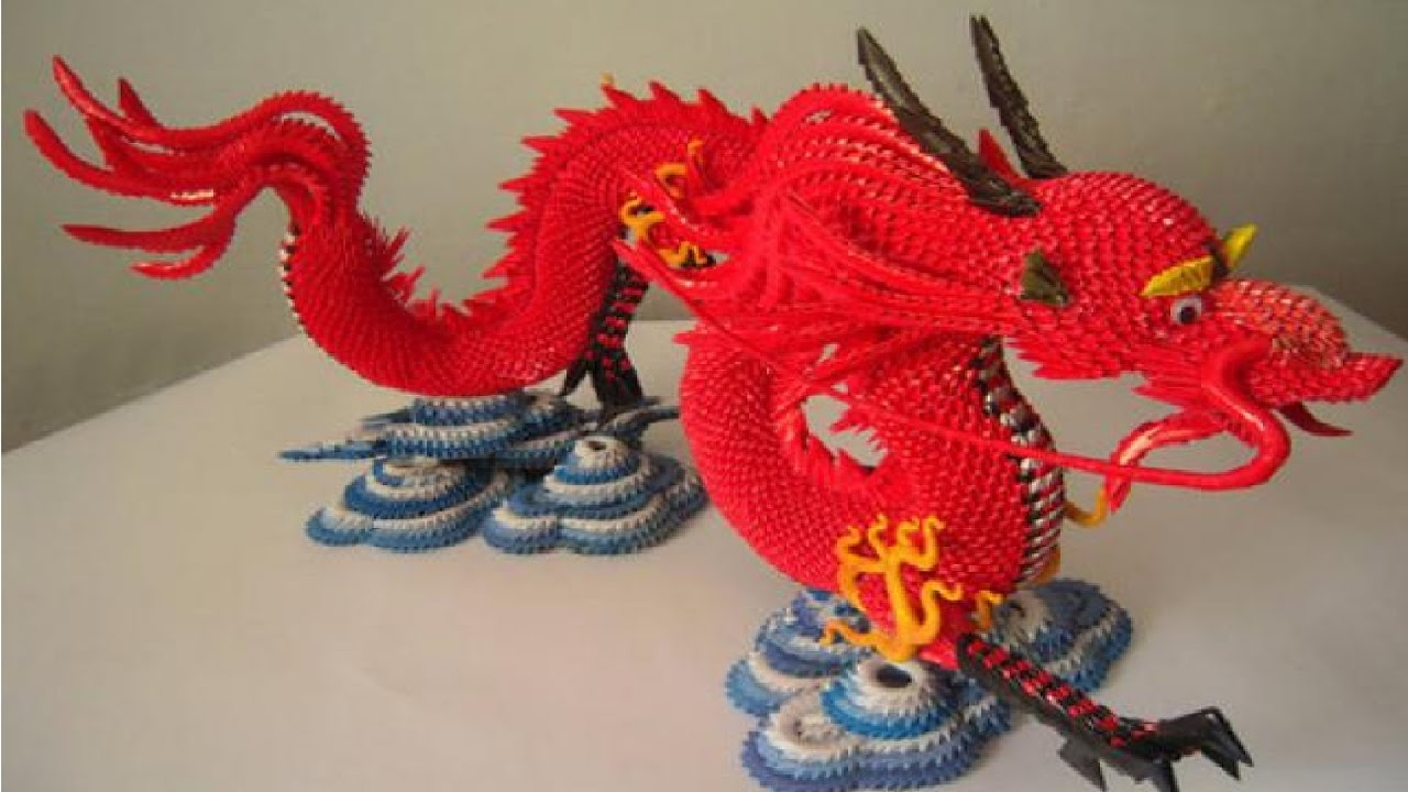 Дракон из модулей схема сборки фото 837