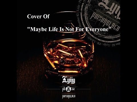 "Cover Of Poison Black's ""Maybe Life Is Not For Everyone"""