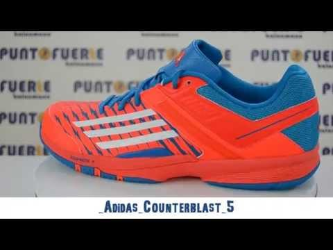timeless design a739f 71da6 Adidas Counterblast 5 - Puntofuerte Balonmano - YouTube