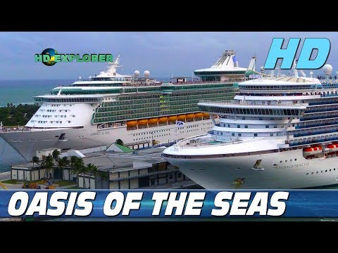 Oasis of the Seas - Leaving Port Everglades (Fort Lauderdale, Florida - USA)