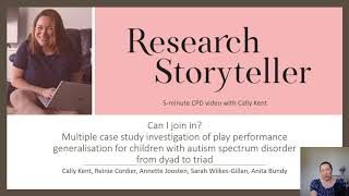 Play intervention for children with autism: pair vs small group & Occupational Therapy practice