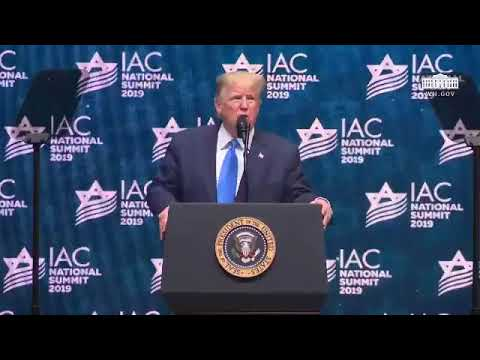 Trump supports Israel, From YouTubeVideos