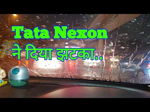 Tata Nexon shocking result in rainy season .
