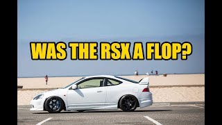 was the acura rsx dc5 a flop in sales