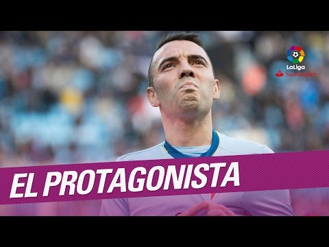 El Protagonista: Iago Aspas, jugador del RC Celta