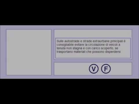 Le Video istruzioni da vedere OBBLIGATORIAMENTE per essere ammessi all'esame QUIZ della patenteиз YouTube · Длительность: 12 мин12 с
