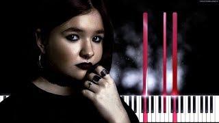 Алена Швец  - Фотография   Как играть на пианино   Cover, Караоке видео