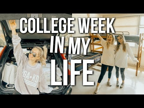 college week in my life: final exams, moving out of dorm, saying goodbye