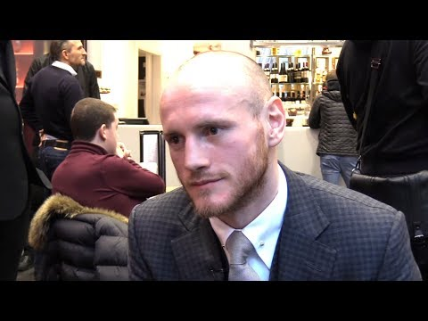 George Groves Interview - Not Underestimating Chris Eubank Jr