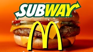 Subway is Just as Unhealthy as McDonald's!