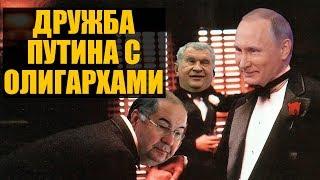 Как Путин с олигархами грабит Россию