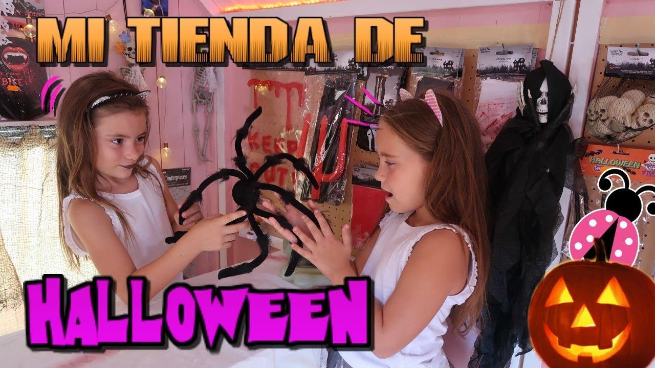 Mi Propia Tienda De Halloween Los Juguetes De Arantxa Youtube