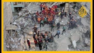 🇹🇷 تضامن عالمي مع ضحايا الزلزال في #تركيا في منصات التواصل وأردوغان يزور المنطقة المنكوبة