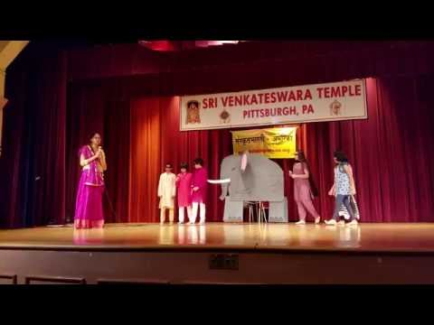 Sanskrit Skit: Blind men and an elephant