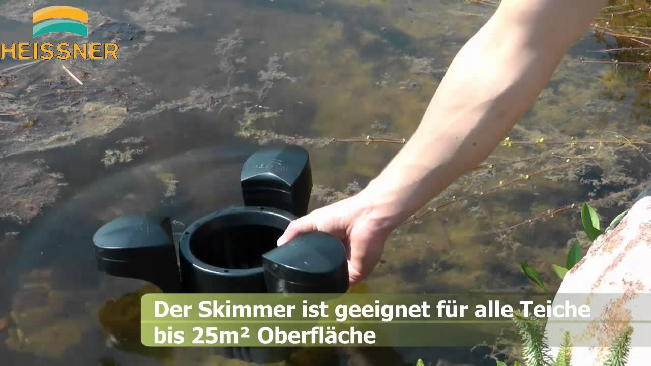 Schwimm-Skimmer OSAGA Oberflächenskimmer Oberflächenreiniger Koi Gartenteich