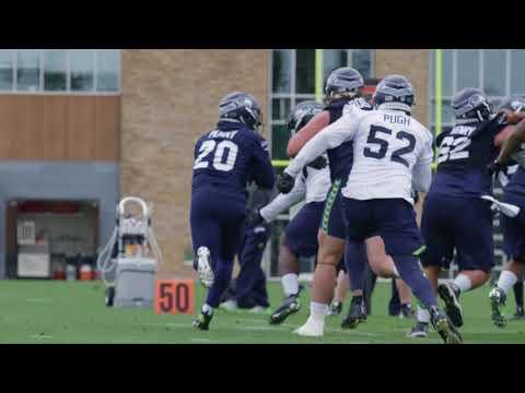 Seahawks OTAs Day 9 Highlights