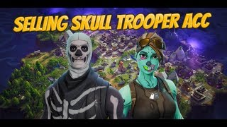 selling fortnite acc with skull trooper,Ghoul trooper and the reaper axe