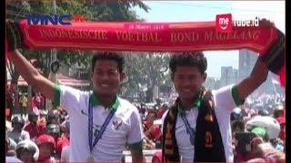 Si Kembar, Bagas dan Bagus Diarak Warga Magelang Pasca Raih Kemenangan Timnas U-16 - LIM 15/08